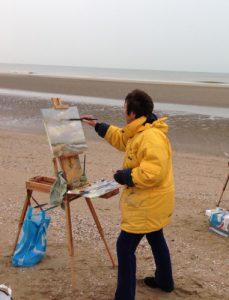 Katwijk-schilderend-381x500