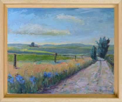 Landscapes paintings- van Lynden-South-Portugal-50x60