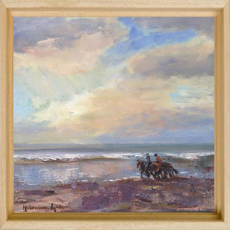 2015-WS013-lynden_Beach13-horseriding-30×30-baklijst-blank