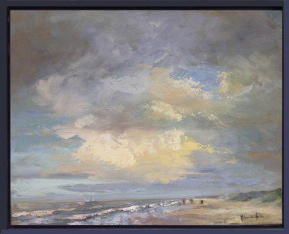 Zeegezicht-Katwijk strand-strandgezicht-Lynden