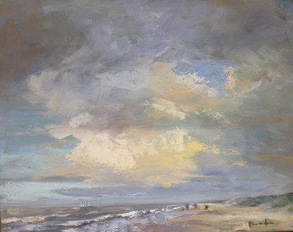 WS047-seascape-katwijk01-40x50-Lynden