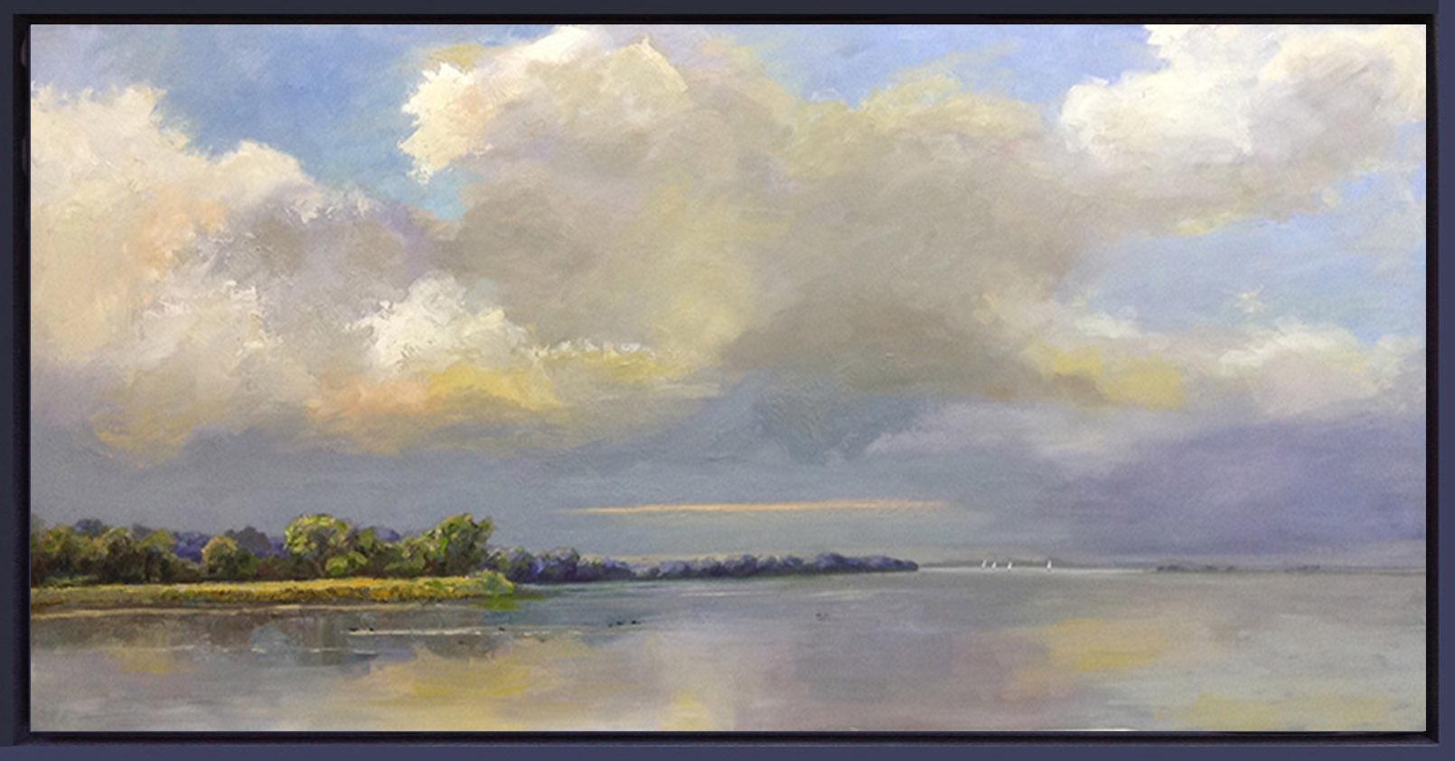 IJsselmeer Muiderberg-landschap-Lynden