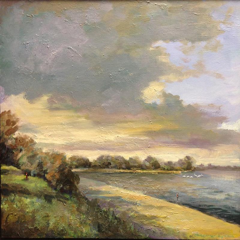 16-WS155-Silent-beach-Lynden-Muiderberg-landschappen-zeegezicht-luchten