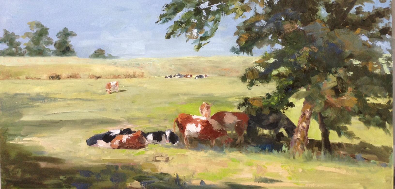 schilderijen met koeien