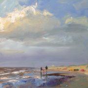 walk to Noordwijk-strand-zeegezicht-strandgezicht-Lynden