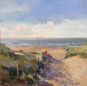 to the beach -strandgezicht-zeegezicht-Lynden