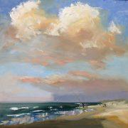 Evening-zeegezicht-strandgezicht-Lynden