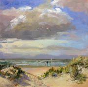 -beachentrance-seascape-zeegezicht-Noordwijk-Lynden