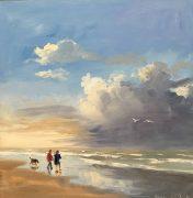 after thunder-seascape-zeegezicht-strandgezicht-luchten-Lynden