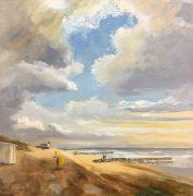 abandoned beachhouse-Zeeland-strandgezicht-zeegezicht-Lynden