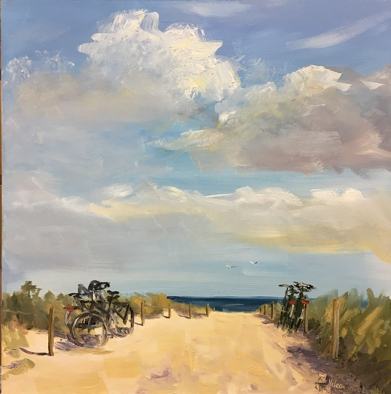 a beautiful day-to the beach=seascape-zeegezicht-Lynden