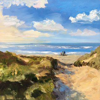 family-zeegezicht-seascape-beachscape-strandgezicht-duinen-Lynden