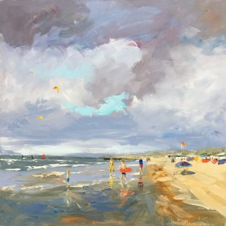 Clouds, seascape-zeegezicht-wolken partijen-Lynden