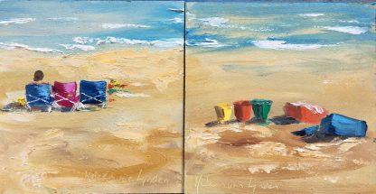 seascape-beachscape-van Lynden-strandgezicht-strandschilderij-zeegezicht