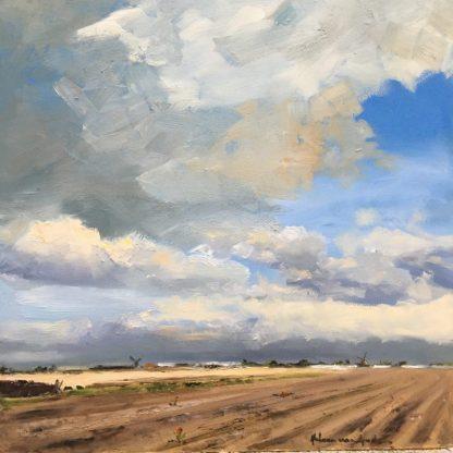 empty bulbfields-landscape- dutchlandscape-Lisse-Heleenvanlynden