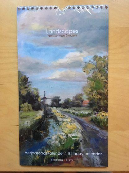 verjaarskalender-hollandse landschappen-Heleenvanlynden