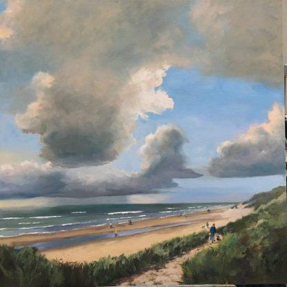to the beach-autumn beach-seascape-seaview-dunes-HeleenvanLynden