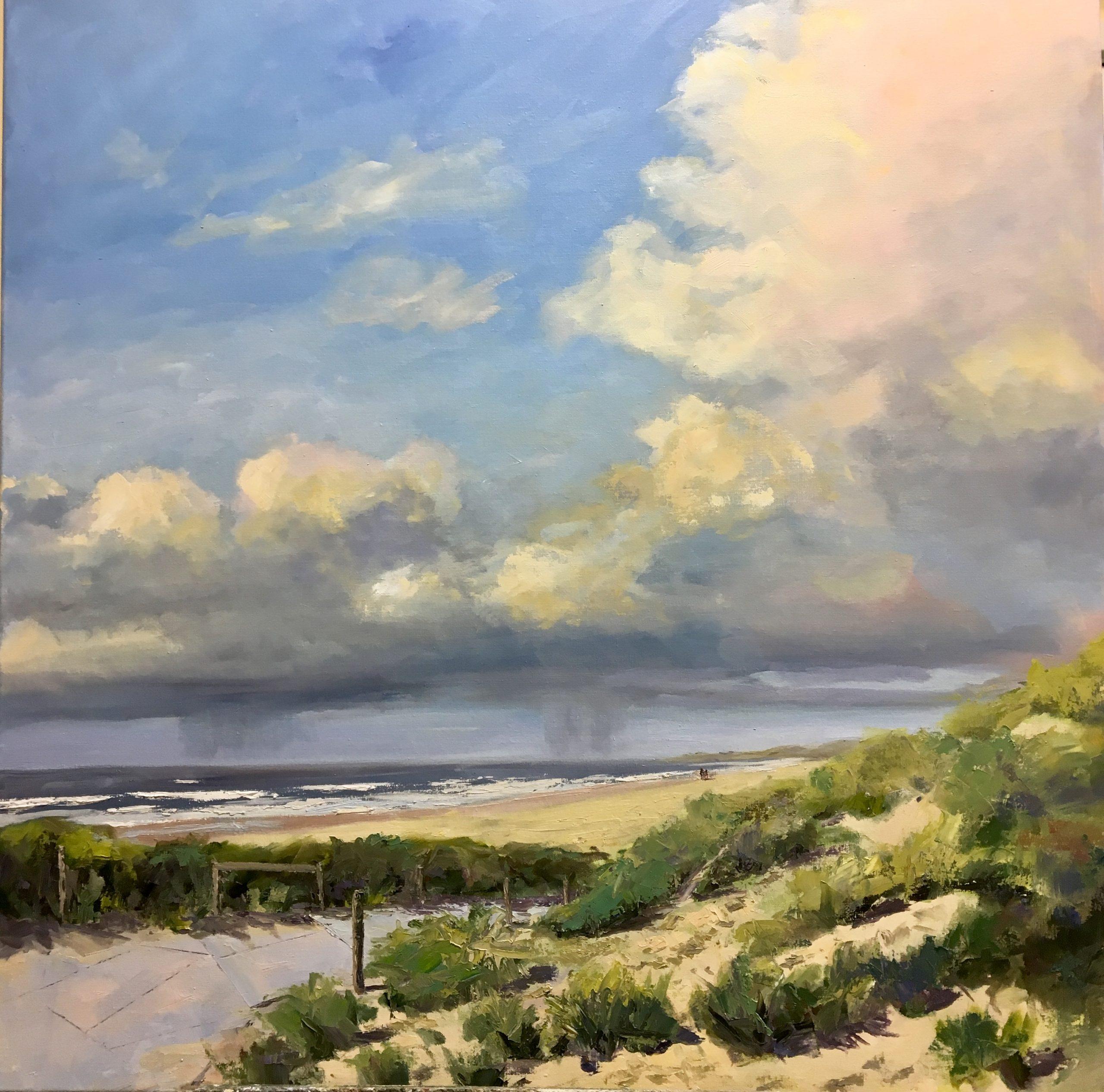 Noordwijk, duinen, strand, zeegezicht, van Lynden, dunes, seaview, beach
