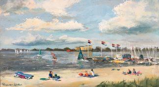 Zomer Muiderberg-strand-beach-beachview-harbour Muiderberg-Heleenvanlynden