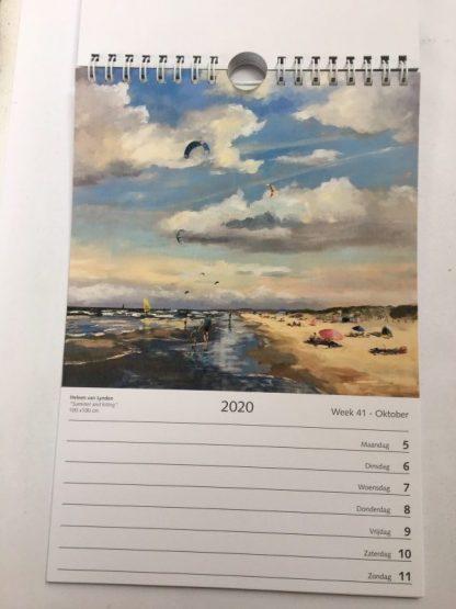 Artcalendar-kunstkalender-kalender 2020