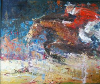 jumping horse, horsejumping, Heleen van Lynden