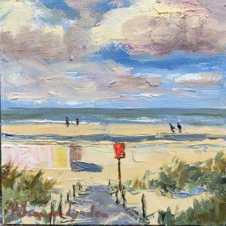 Kijkduin, seascape, Heleen van Lynden
