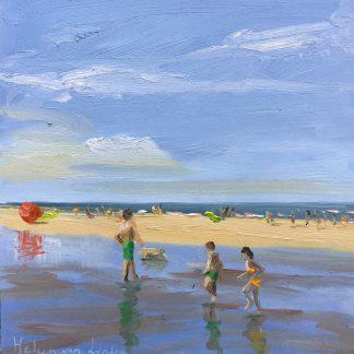 july, beach, seascape, Heleen van Lynden