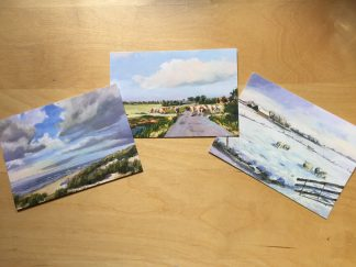 postcards, paintings, van Lynden