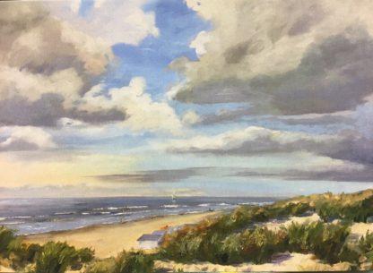 postcard, seascape, van Lynden
