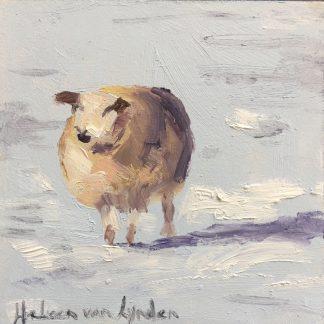 Schaap in sneeuw, Heleen van Lynden
