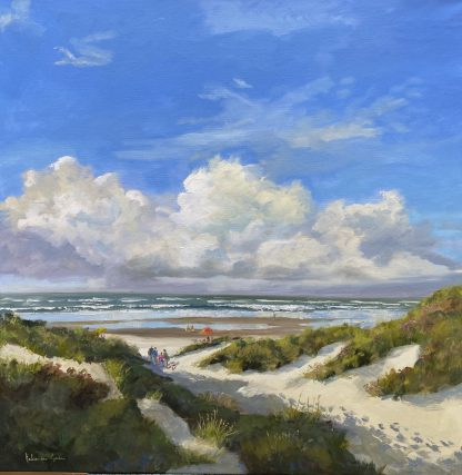 zomerdag, summersday, beach, dunes, sea, coast, dutch coast, Heleen van Lynden,
