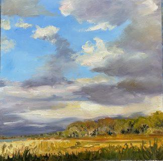 Herfst autumn, olieverfschilderij, oilpainting, Heleen van Lynden